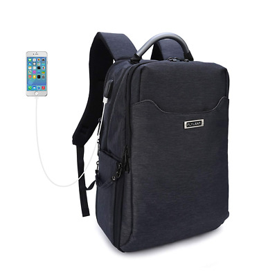 Waterproof Multifunctional Travel Camera Backpack Anti-Theft, USB Charging Port