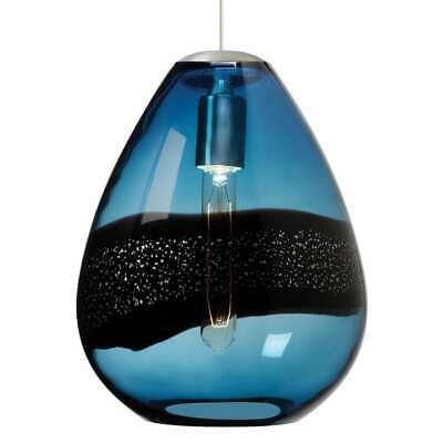 LBL Lighting Amber Crystal Ball Pendant For Monorail System HS264 MSRP $184