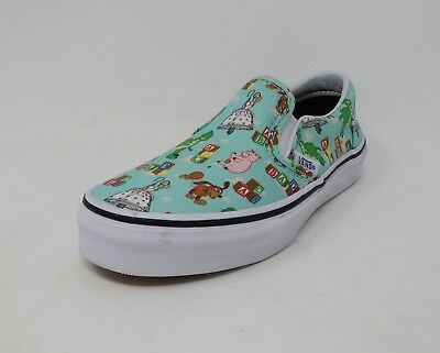 4c143266c5 VANS DISNEY TOY Story Kids Shoes Andy s Toys Classic Slip On  2580 ...
