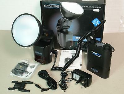 Genesis GF400 Portable Flash System 400Ws with Powerport Duo 1000 Battery Pack