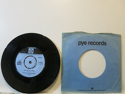 """The Ferris Wheel - The Na Na Song/3 Cool Cats-Psychedelic Rock 7"""" 1968 Pye UK NM"""