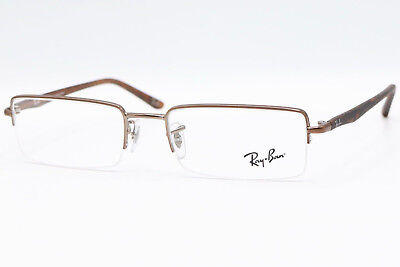 4174ca12426 New Authentic Ray Ban RB 6222 2690 Copper Tortoise Mens Eyeglasses 52-18-135