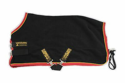Horseware Rambo Softy Fleece Sheet Cooler Classic Cut Neck and Straight Front