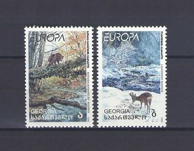 Georgia, Europa Cept 1999, National Parks, Mnh