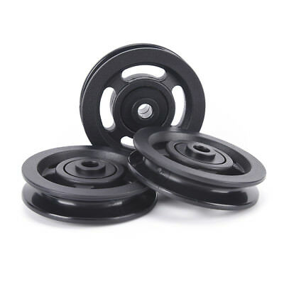 90mm black bearing pulley wheel cable gym equipment part wearproof G1HWC