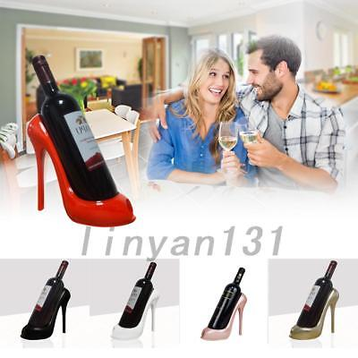 High Heel Shoe Wine Bottle Holder Wine Rack Kitchen Bar Home Decor Ornaments