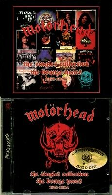 Motorhead - the singles collection 1978-1984 RARE OOP Gold CD w/Slipcase (Mint!)