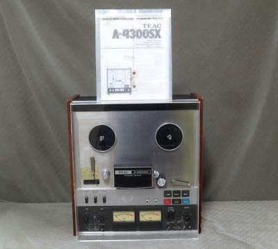 TEAC A-4300SX Reel to Reel Stereo Tape Deck w/ Auto Reverse & Manual