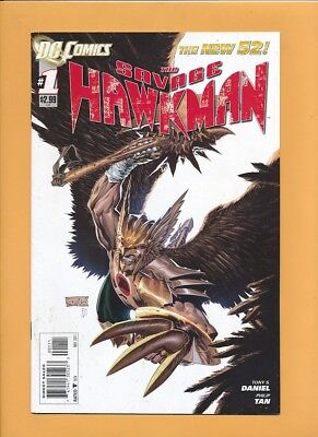 The Savage Hawkman #1 and #2 VF First Prints The New 52