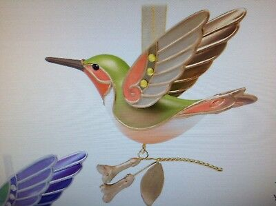 2018 Hallmark Hummingbird Surprise GOLDEN Beauty of Birds REPAINT Mystery RARE!!