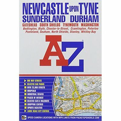 Newcastle Upon Tyne Street Atlas by Geographers' A-Z Map Co Ltd | Paperback Book
