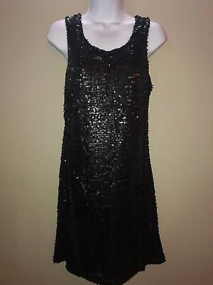 mark by Avon Sequins of Events Knee Length Black Dress Size M Medium NEW 588109882