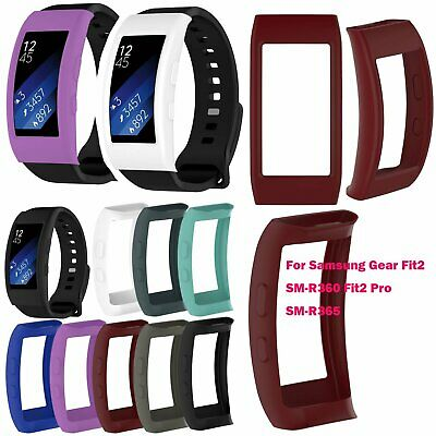 Silicone Case Shell Protective for Samsung Gear Fit2 SM-R360 Fit2 Pro SM-R365
