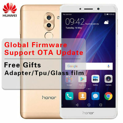 GLOBAL Huawei Honor 6X 8Core 3Go+32Go 4G Smartphone Téléphone 12MP Fingerprint