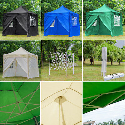 2.5x2.5m Pop-Up Gazebo Waterproof Garden Outdoor Show Party Tent + Carry Bag UK