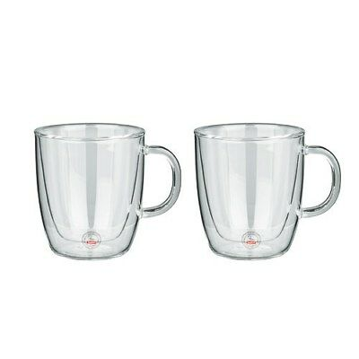 New Bodum Bistro Double Wall Thermo Glasses (300mL) Kitchenware High Quality