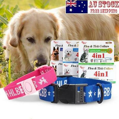 Anti Flea Mite Acari Tick Remedy Dog Cat Kitten Adjustable Pet Collar Neck Strap