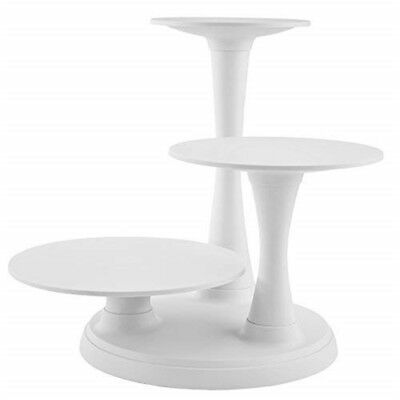 Wilton 3 Tier Pillar Cake Stand, 41.1 x 50.1cm (17 x 19.75 In) High - Stand