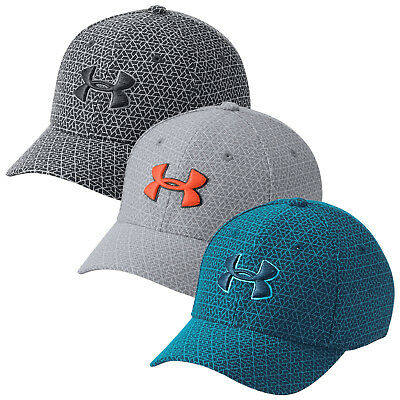 2018 Under Armour Junior Boys Printed Blitzing 3.0 Golf Cap UA Kids Baseball Hat