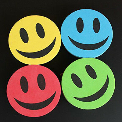 Emoji Magnetic Whiteboard Eraser Disk Style Dry Wipe Duster Wiper Smile Face