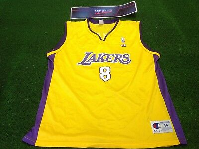 bccf79fe03a vtg 90s champion bryant Los Angeles la lakers NBA basketball shirt real  jersey