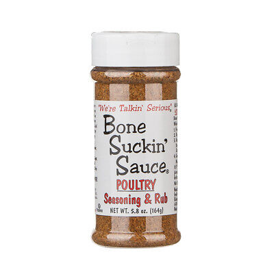 New Bone Suckin Sauce (Poultry Seasoning & Rub) BBQ Barbecue Flavorings Spices