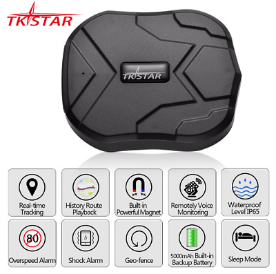 TKSTAR Vehicle Car GSM GPRS GPS Tracker Waterproof 90 Days Standby Free Web APP