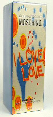 I Love Love Cheap And Chic by Moschino 200ml Perfumed Bath & Shower Gel NEW RARE