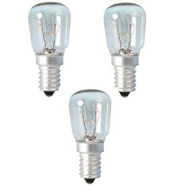 3 x Appliance Lava Larva Lamp 25W SES E14 Pygmy Screw in Light Bulb Bulbs Lamps
