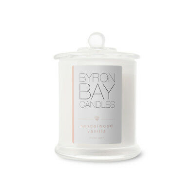 Fragrant Candles Natural Soy BYRON BAY Assorted Fragrances LARGE Glass New