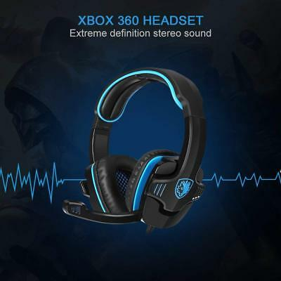 SADES Gaming Headset Headphone For PS4/PC/Laptop/Xbox 360 with Microphone Lot MG