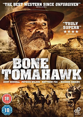 Bone Tomahawk (UK IMPORT) DVD [REGION 2] NEW