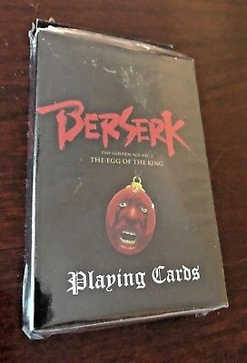 "*BRAND NEW* unopened Berserk Playing Cards by GE Animation ""FREE SHIPPING"""