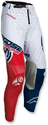 Moose Racing M1 Mens MX Offroad Pants Red/White/Blue