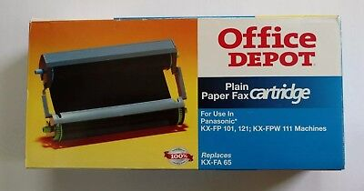 Office Depot Plain Paper Fax Cartridge~Panasonic KX-FP 101, 121