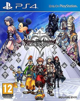 Game Kingdom Hearts Hd 2.8 Ii.8 Ps4 Game Video Game Videogame Square-Enix #1