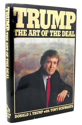 Trump the art of the deal by donald trump first edition 1987 donald j trump trump the art of the deal 1st edition 1st printing fandeluxe Choice Image