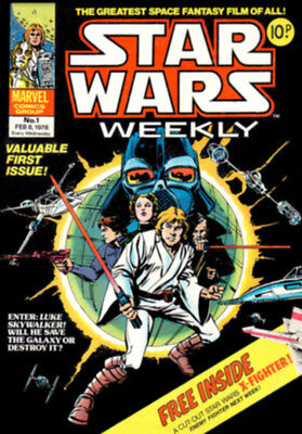 *NEW* STAR WARS Comic Cover 1st Edition (RARE) Reproduction Art Print