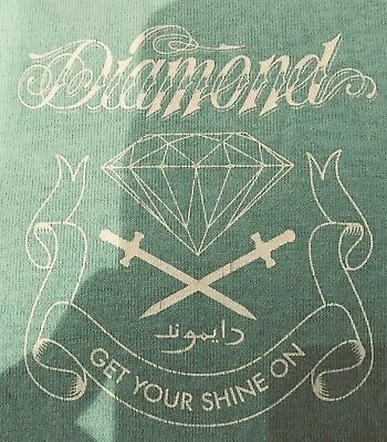 Authentic Diamond Supply Co. Get Your Shine on t-shirt tee Tiffany XL Supreme