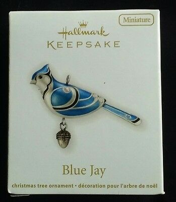 Hallmark: BLUE JAY *Miniature* Dated 2012