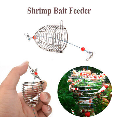 Stainless Steel Wire Fishing Lure Cage Fishing Accessories Fish Bait Useful