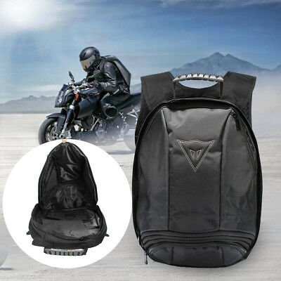 Black Waterproof  Motorcycle Backpack Moto Shoulder Reflective Helmet Sport Bag