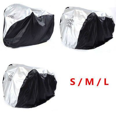S/M/L Waterproof Bike Bicycle Cycling UV Rain Dust Cover Outdoor Protector