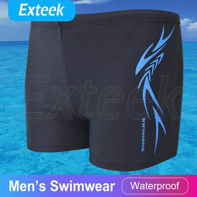 Men's Boy Swim Swimming Trunks Boxer Shorts Jammers Shark Skin Racing Pant AU