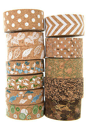 New collection cork board tape for cork board wall art deco 15mm/22mmX1M