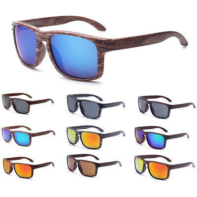 Sunglasses Faux Wood Women Mens Eye Glasses Retro Vintage Summer Travel Glasses