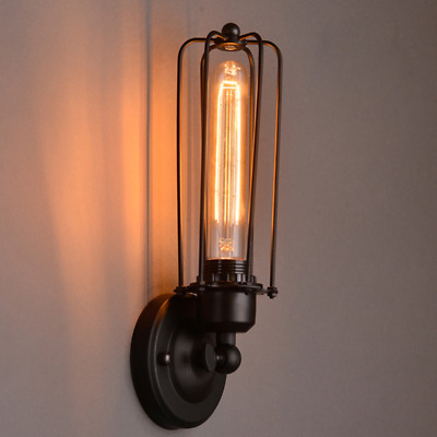 Vintage Industrial Wall Lights Bedroom Wall Lamp Swing Arm Wall Sconce Indoor