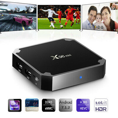 TV Box X96 mini Android 7.1 2GB/16GB Amlogic S905W X WiFi HDMI mini PC 4K Mejor
