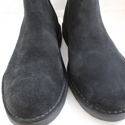 Mens Ask the Missus Black Suede Elasticated Ankle Boots Size UK 8  Ex  Display 5db93bebea5d