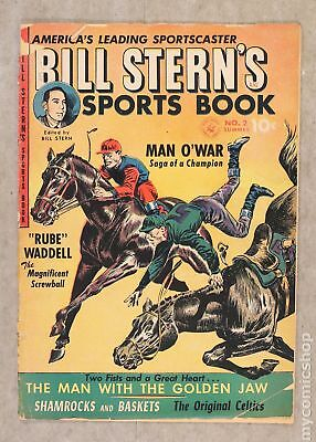 Bill Stern's Sports Book (1951-Summer/1952) #2 FR 1.0